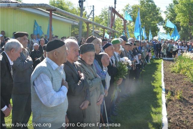 Память жертв депортированных народов почтили в Красногвардейском районе