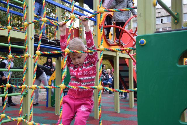 В пгт Красногвардейское в кв.Южный открыта детская площадка
