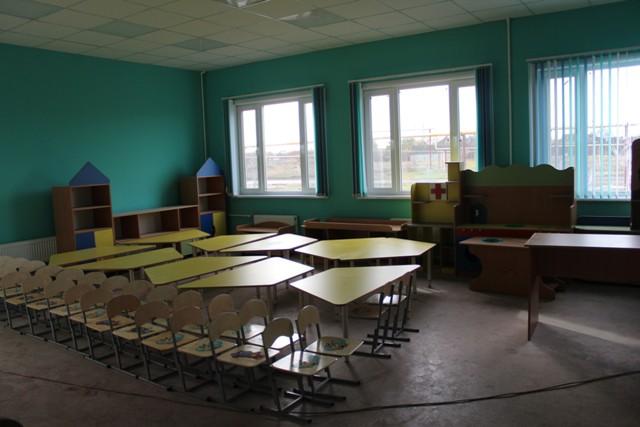 Установка первого в районе модульного детского сада близится к завершению